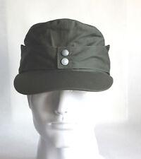 WWII German Elite EM M43 Summer Panzer Field Cotton Cap Hat Green 57 58 59 60 cm