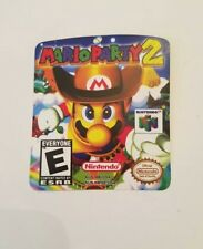 Mario Party 2 N64 Cartridge Replacement Label sticker