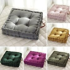 Square Chair Cushion Thick Tatami Seat Pads Bedroom Floor Pillows 42*42*10cm