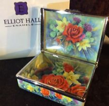 Elliot Hall Enamels Rare A P Diamond Jubilee Box Nigel Creed REDUCED