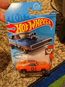70 Dodge charger r.t  hot Wheels dukes of Hazzard general Lee custom..   .