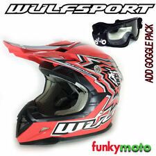 Gloss Full Face Motocross & ATV Motorcycle Helmets