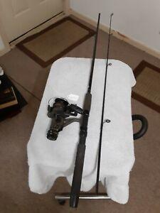 Spinning fishing Rod Shimano 6'15lb Med And reel Shimano Bass One Lot B22