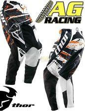 Thor 2013 Phase Splatter Naranja Pantalón Race Youth Niños 20 pulgadas Motocross