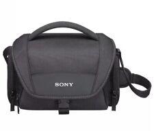 Sony SONY Shoulder Bag Soft Black Carrying Case For Cyber Shot LCS-U21/B NWT