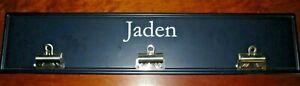 Blue Wooden Clip Display Board Jaden from Pottery Barn Kids
