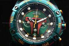"Invicta STAR WARS Men's 52mm ""BOBA FETT"" Limited Edition Green Chono Strap Watch"