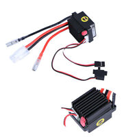 320A ESC Brush Motor Speed Controller And Fan For RC Car Motor Boat Model