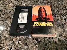 Oasis Of The Zombies Rare VHS! 1981 North African Desert Horror Nightmare!