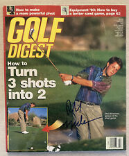 🔥 IP 1993 Phil Mickelson Signed Autographed Golf Digest Magazine 🔥 🔥