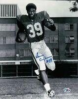 Sam Cunningham Signed 8X10 Photo Autograph USC Trojans B/W Blue Ink Auto w/COA
