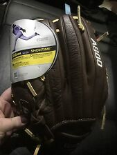 "New Wilson Showtime A800 Adult 12"" Infield Glove - Brown Leather - WTA08RB16BM12"