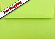 Lime Green Envelopes for Invitations Announcements Showers Weddings Enclosures