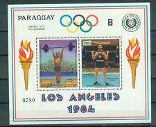 Paraguay Block 388 , ** , Olympische Spiele 1984