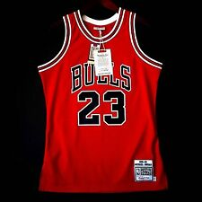 100% Authentic Michael Jordan Mitchell & Ness 85 86 NBA Bulls Jersey Size 40 M