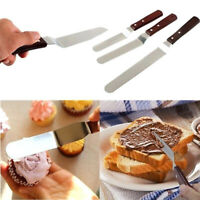 Cake Cream Spatula Set Smoother Icing Spreader Fondant Pastry Decor Kitchen Tool