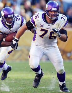 STEVE HUTCHINSON 8X10 PHOTO MINNESOTA VIKINGS PICTURE NFL FOOTBALL