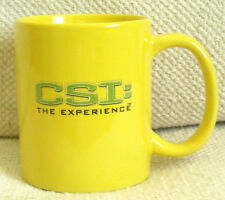 CSI: THE EXPERIENCE - BRIGHT YELLOW, LAS VEGAS - MGM, SOUVENIR MUG