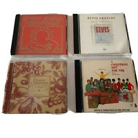 Lot of 4 CDs Holiday Music Rock Christmas Elvis Presley Beach Boys Phil Spector