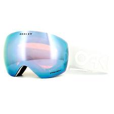 Oakley Ski Goggles Flight Deck OO7050-37 Factory Whiteout Prizm Sapphire Iridium