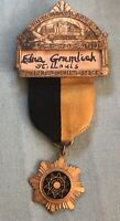 1935 Walther League International Convention St. Louis Medal - Greenduck Chicago