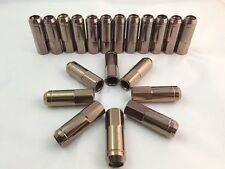 BRONZE  HEAVY DUTY GT-JDM Stainless Steel Extended LUG NUTS THREAD 12X1.5