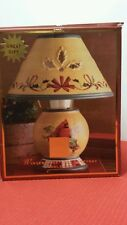 Lenox winter greeting candle lamp in box