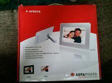 Agfaphoto AF 5075 Digitaler Bilderrahmen 17,8cm 7 Zoll Display Bild Foto Diashow