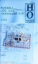Grandt Line HO #5103 Russel Log Car Hardware Kit (Plastic Parts)