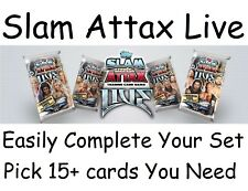 Topps WWE Slam Attax Live Numbers 33-392  Pick choose the 15 cards you need