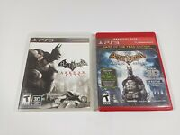 Batman Arkham Asylum Greatest Hits & Arkham City (Sony PlayStation 3)