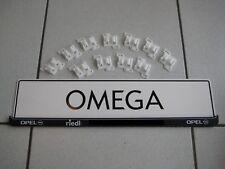 11 Halter Clip Klammern Schweller Blende original Omega B vom Opel Händler