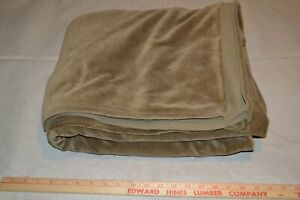 """Heavy cotton velour fabric, brown, 58"""" x 3.8 yards"""