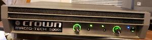 Crown Micro Tech MA 5000i Power Amplifier