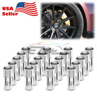 Blue 20 PCS M12X1.25 Extended Lug Nuts For Nissan Rouge Altima 370z 350z WN02