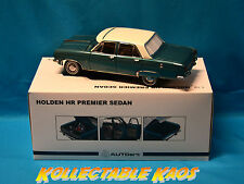 1:18 Biante - 1967 Holden Hr Premier Sedan - Tennyson Turquoise - Brand New
