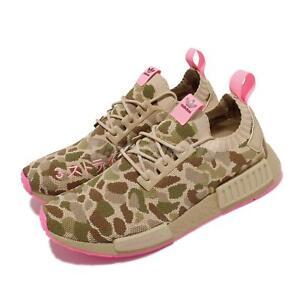 adidas Originals NMD_R1 PK Primeknit Duck Camo Pink Men Casual Shoes G57940