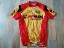 *MAILLOT CYCLISTE SERVARY CHATEAU D'OLONNE INTERMARCHE TAILLE M/3  TBE