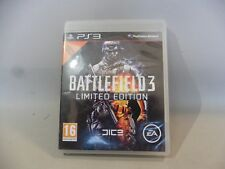 GAME BATTLEFIELD 3 LIMITED EDITION / PS3 in good condition with record