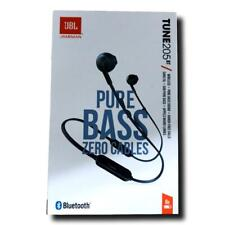 JBL Tune 205 BT in-Ear, Wireless Bluetooth Headphone, Blue, Authentic Sealed New