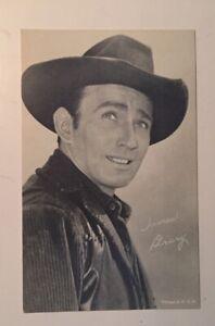 James Drury 1950's Cowboy Arcade Card