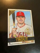 2020 TOPPS GALLERY PREVIEW CARD BASEBALL CARD DAY ANGELS MIKE TROUT #GP-1