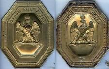 Plaque de mérier - Garde-champêtre second empire NIII mentions effacées en bas