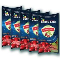 50 Tabs Berrylabs Miracle fruit Tablets Magic Berry Mberry Synsepalum Dulcificum