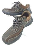 Skechers Men's Memory Foam Walking Casual Leather Relaxed Fit Shoes Size 8