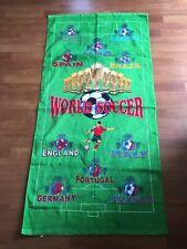 Fifa World Cup Soccer Football Beach Bath Towel Green 2014 Year Design