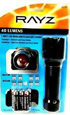 Survival Pack 40 Lumen LED Flashlight / Headlight Combo Camping Car
