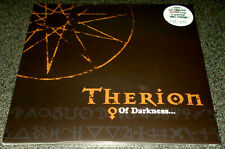 THERION-OF DARKNESS-ETCHED 2012 180g 2xLP BROWN VINYL-LIMITED 150-NEW & SEALED