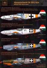 Hungarian Aero Decals 1/48 MESSERSCHMITT Bf-109F-4/b Fighter