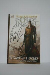 The Hedge Knight inglese Jet City Comics 2013 autografato da George R.R. Martin!